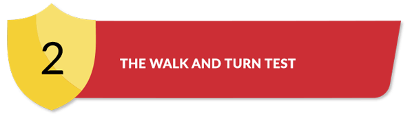 Title for The Walk and Turn Test Section